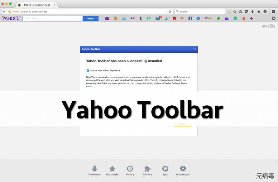 Yahoo Toolbar on Firefox