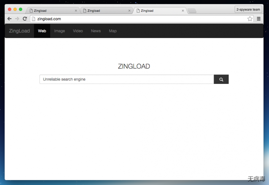 Zingload.com virus